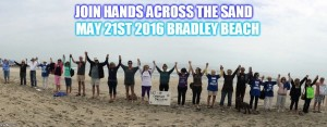 Brian Zucker 'Joins Hands' for a cause at Bradley Beach NJ